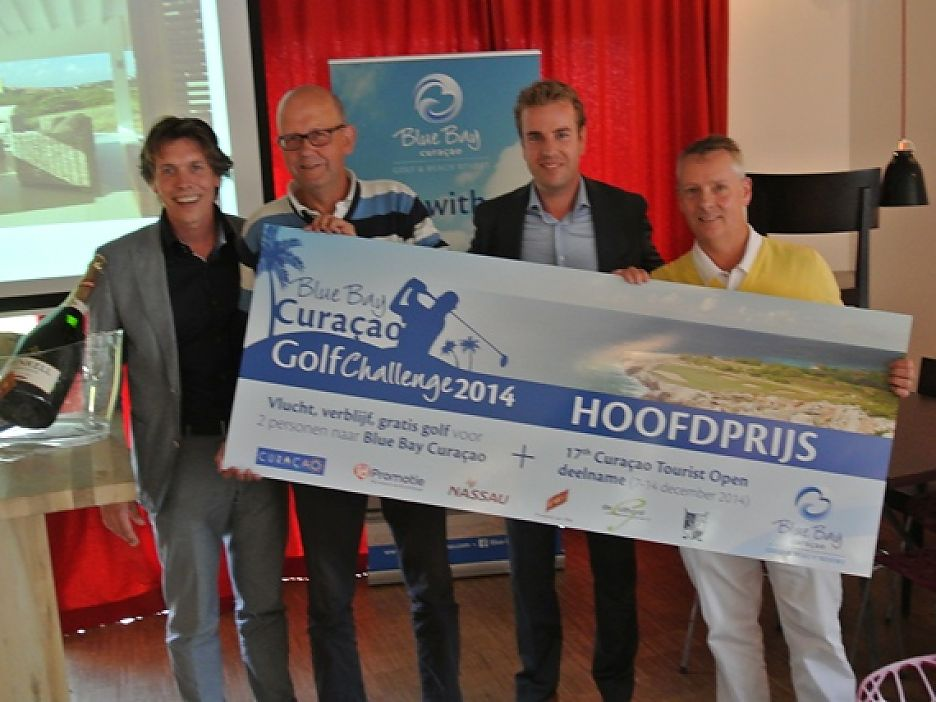 Winnaars Thomas Fluitsma en Ernst Treep