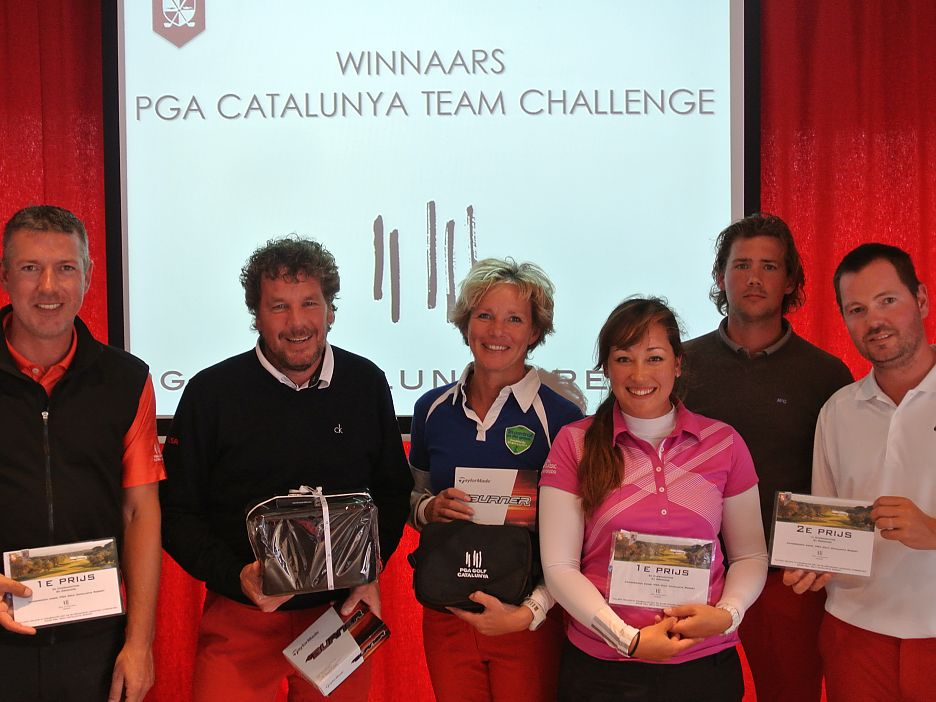 Winnaars PGA Catalunya Team Challenge 2014